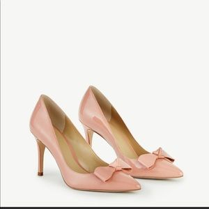 Charlie Patent Bow Pumps
